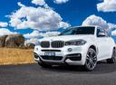 Фото авто BMW X6 F16, ракурс: 45 цвет: белый