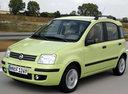 Фото авто Fiat Panda 2 поколение, ракурс: 45