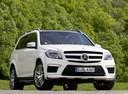 Фото авто Mercedes-Benz GL-Класс X166, ракурс: 315 цвет: серебряный