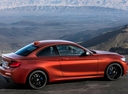 Фото авто BMW 2 серия F22/F23 [рестайлинг], ракурс: 270 цвет: оранжевый