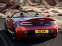 Фото авто Aston Martin Vantage 3 поколение [2-й рестайлинг], ракурс: 135 цвет: красный