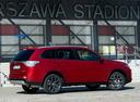Фото авто Mitsubishi Outlander 3 поколение [рестайлинг], ракурс: 225 цвет: красный