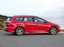 Фото авто Ford Focus 3 поколение, ракурс: 270 цвет: красный