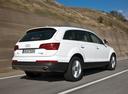 Фото авто Audi Q7 4L [рестайлинг], ракурс: 225 цвет: серебряный