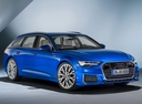 Фото авто Audi A6 C8, ракурс: 315 цвет: синий
