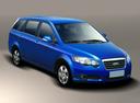 Фото авто Chery CrossEastar 1 поколение, ракурс: 315 цвет: синий