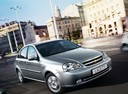 Фото авто Chevrolet Lacetti 1 поколение, ракурс: 315 цвет: серебряный