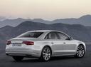 Фото авто Audi A8 D4/4H [рестайлинг], ракурс: 225 цвет: серебряный