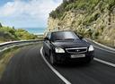 Фото авто ВАЗ (Lada) Priora 1 поколение [рестайлинг],  цвет: черный