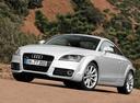 Фото авто Audi TT 8J [рестайлинг], ракурс: 45 цвет: серебряный