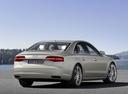 Фото авто Audi A8 D4/4H [рестайлинг], ракурс: 225 цвет: бежевый