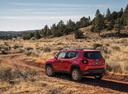 Фото авто Jeep Renegade 1 поколение, ракурс: 135 цвет: красный
