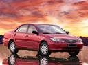 Фото авто Toyota Camry XV30 [рестайлинг], ракурс: 315 цвет: красный