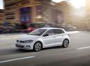 Фото авто Volkswagen Polo 6 поколение, ракурс: 45 цвет: белый