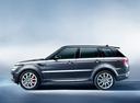 Фото авто Land Rover Range Rover Sport 2 поколение, ракурс: 90 цвет: серый