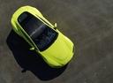 Фото авто Aston Martin Vantage 4 поколение, ракурс: сверху цвет: салатовый