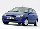 Фото авто Ford Focus 1 поколение, ракурс: 45 цвет: синий