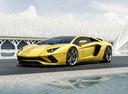 Фото авто Lamborghini Aventador 1 поколение [рестайлинг], ракурс: 45 цвет: желтый