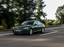 Фото авто Audi A4 B9, ракурс: 45 цвет: зеленый