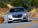 Фото авто Cadillac CTS 3 поколение,  цвет: серебряный