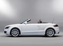 Фото авто Audi TT 8J [рестайлинг], ракурс: 90 цвет: белый