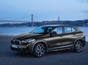 Фото авто BMW X2 F39, ракурс: 45 цвет: серый