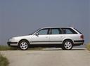 Фото авто Audi 100 4A/C4, ракурс: 90 цвет: серебряный
