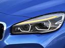 Фото авто BMW 2 серия Active Tourer F45 [рестайлинг], ракурс: передние фары цвет: синий