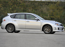Фото авто Subaru Impreza 3 поколение [рестайлинг], ракурс: 270 цвет: серебряный