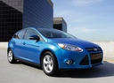Фото авто Ford Focus 3 поколение, ракурс: 315 цвет: синий