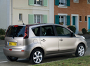 Фото авто Nissan Note E11 [рестайлинг], ракурс: 225 цвет: серебряный