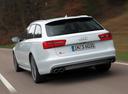 Фото авто Audi S6 C7, ракурс: 135 цвет: белый