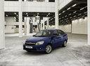 Фото авто ВАЗ (Lada) Granta 1 поколение, ракурс: 45 цвет: синий