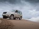 Фото авто УАЗ Patriot 1 поколение [рестайлинг], ракурс: 45 цвет: серебряный