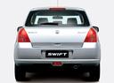 Фото авто Suzuki Swift 3 поколение, ракурс: 180 цвет: серебряный
