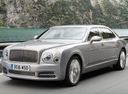 Фото авто Bentley Mulsanne 2 поколение [рестайлинг], ракурс: 45 цвет: бежевый