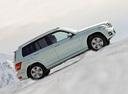 Фото авто Mercedes-Benz GLK-Класс X204, ракурс: 270 цвет: серебряный