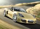 Фото авто Porsche Boxster 981, ракурс: 315 цвет: бежевый