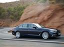 Фото авто BMW 5 серия G30, ракурс: 270 цвет: синий