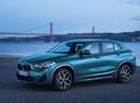Фото авто BMW X2 F39, ракурс: 45 цвет: голубой