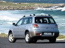 Фото авто Mitsubishi Outlander 1 поколение, ракурс: 135 цвет: серебряный