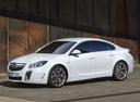 Фото авто Opel Insignia A, ракурс: 45 цвет: белый