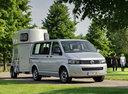 Фото авто Volkswagen Multivan T5 [рестайлинг], ракурс: 315 цвет: серебряный