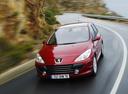 Фото авто Peugeot 307 1 поколение [рестайлинг],  цвет: красный