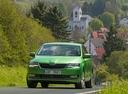 Фото авто Skoda Rapid 3 поколение [рестайлинг],  цвет: зеленый