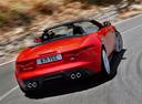 Фото авто Jaguar F-Type 1 поколение, ракурс: 180 цвет: красный