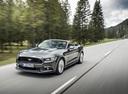 Фото авто Ford Mustang 6 поколение, ракурс: 45 цвет: серый