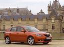 Фото авто Mazda 3 BK, ракурс: 315 цвет: бронзовый