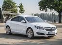 Фото авто Opel Insignia A [рестайлинг], ракурс: 315 цвет: белый