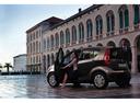 Фото авто Suzuki Splash 1 поколение [рестайлинг], ракурс: 135 цвет: коричневый